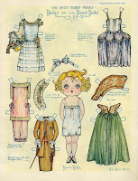 Бумажные куклы РЕТРО