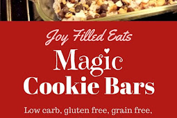 Magic Cookie Bars -Low Carb, Keto, THM S