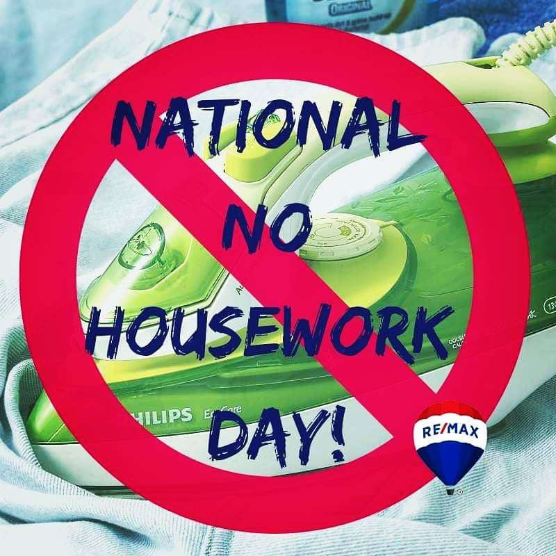 National No Housework Day Wishes Beautiful Image
