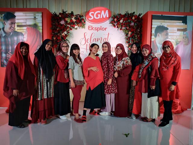 perayaan hari ibu SGM