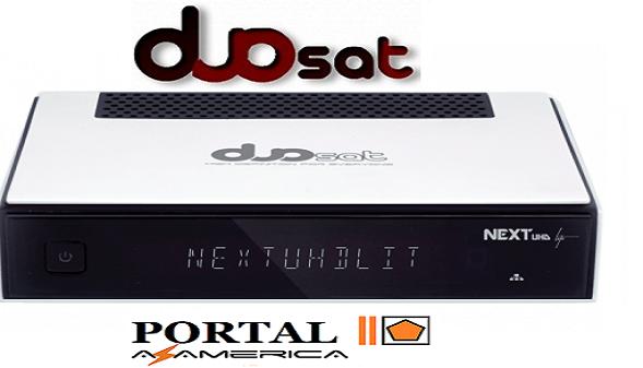 Resultado de imagem para DUOSAT NEXT UHD LITE  portal azamerica