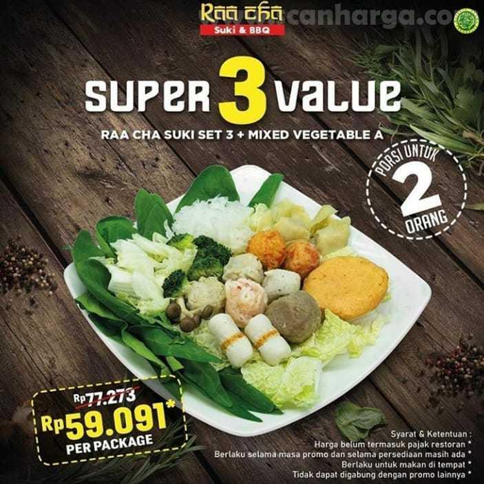 Promo Raa Cha Suki Paket Super Value 27 Juli - 31 Agustus 2020 3