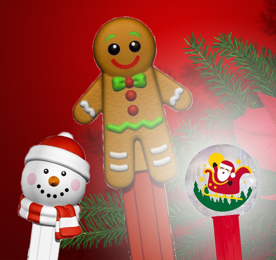 Christmas Pez 2020 Pez Palz Friends of PEZ: Christmas PEZ review for 2019 and whats