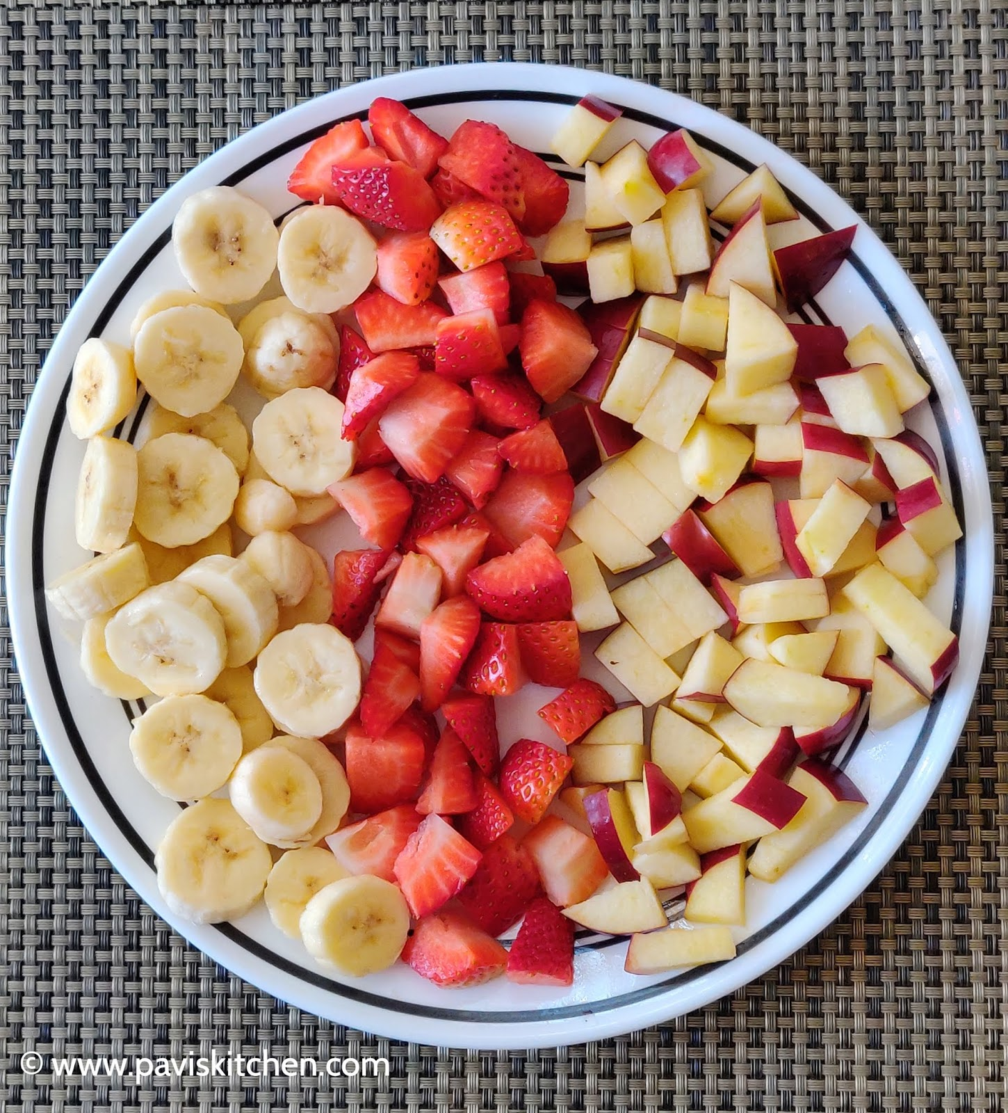 Healthy Fruit and Nut Platter Recipe | Fruit Tray | Fruit and Nut Salad