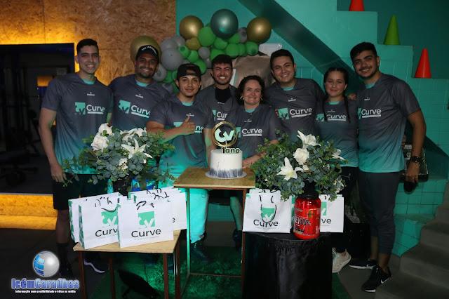 Curve Academia comemora 1 ano no mercado proporcionando aos alunos saúde e qualidade de vida em Caraúbas