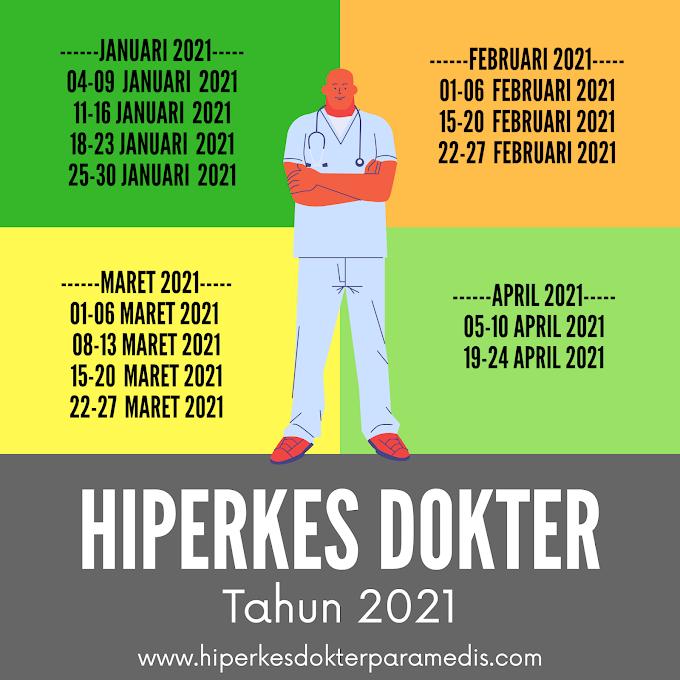 Jadwal Pelatihan Hiperkes Tahun 2020-2021 Untuk Dokter dan Dokter Gigi