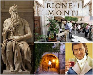 Rione Monti: il quartiere del Marchese del Grillo, di Petrolini e del Mosè di Michelangelo - Visita guidata Roma