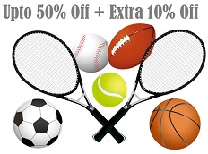 Sports, Fitness & Outdoors – Upto 50% Off + Extra 10% Off @ Amazon