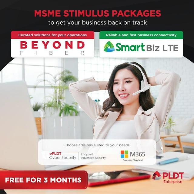 PLDT MSME Stimulus Package