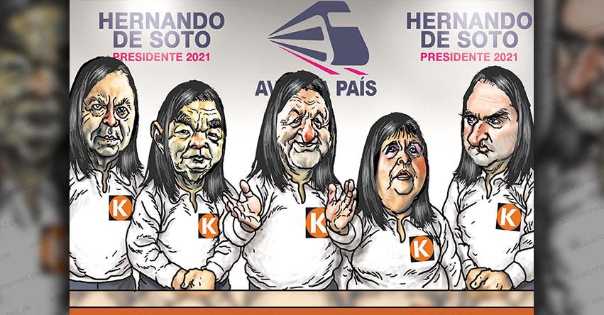 Carlincaturas Lunes 1 Marzo 2021 - La República