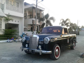 Mercedes Benz 4320 PU Tahun 1958 Diesel