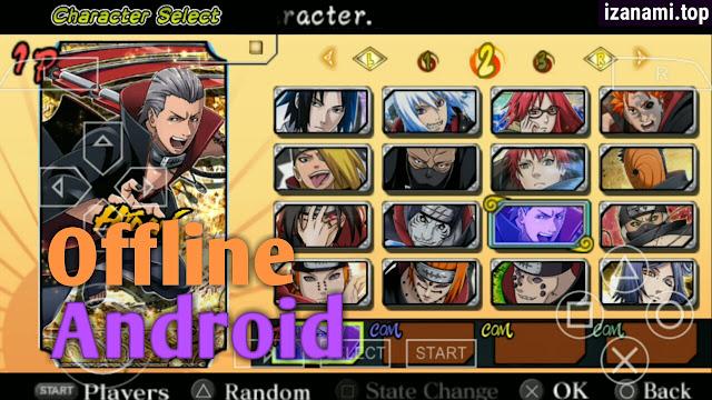 (Nouveau) Naruto Ultimate Ninja Heroes 3 MOD Ultimate Ninja 5 PPSSPP Android || Téléchargez-le sur izanami.top