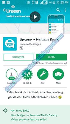 cara membaca pesan whatsapp tanpa diketahui pengirim