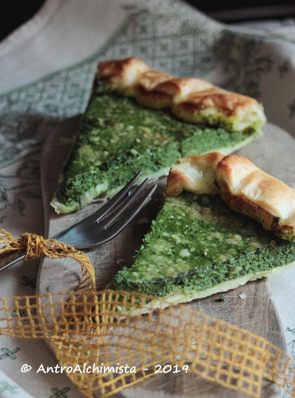 Torta Rustica di Spinaci e Robiola