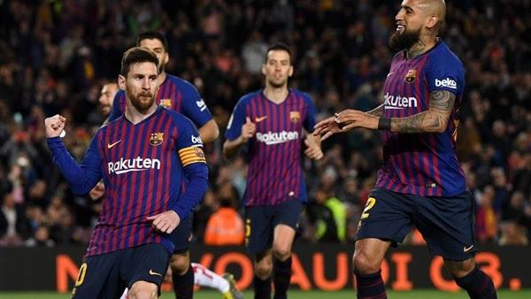 تشكيل برشلونة ضد فياريال عبر سوفت سلاش