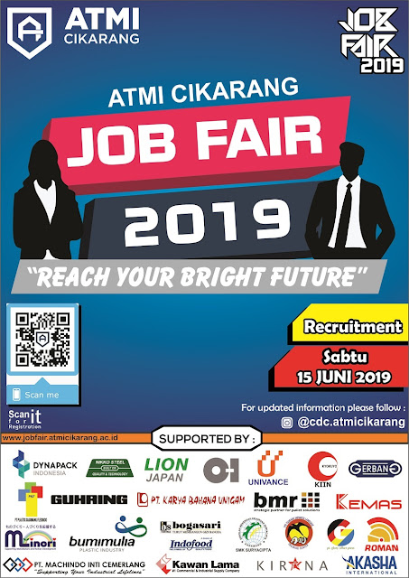 Job Fair GRATIS di Cikarang, Bekasi 2019