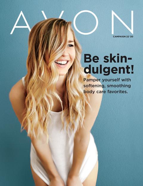 AVON Brochure Flyer Campaign 22 2020 - Be Skin-Dulgent!
