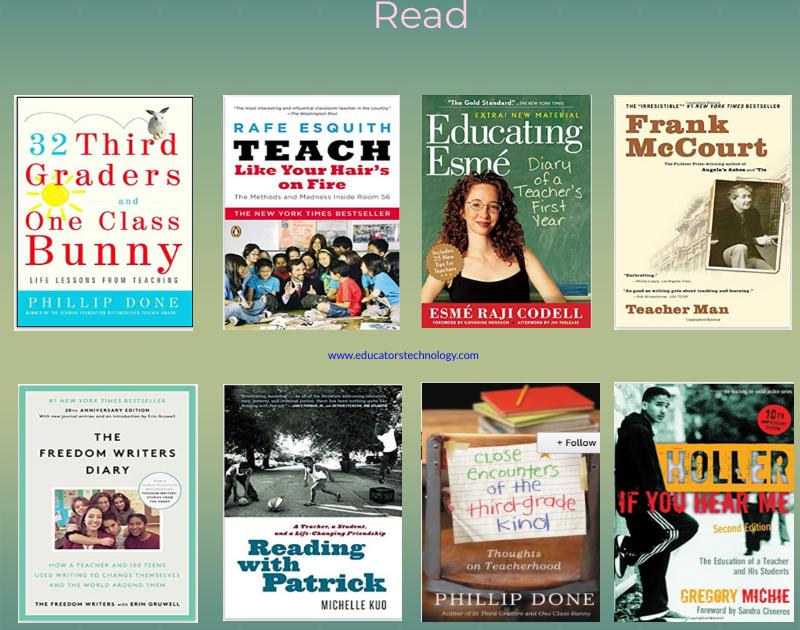 8 Great Teacher Memoirs Every Educator Should Read