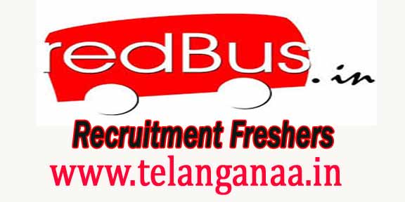 redBus Recruitment 2016-2017 For Freshers