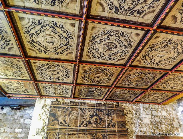 Sala da torre de observação do Westgate, em Winchester