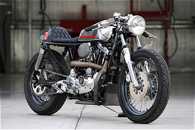 Harley Davidson Ironhead By DP Customs Hell Kustom