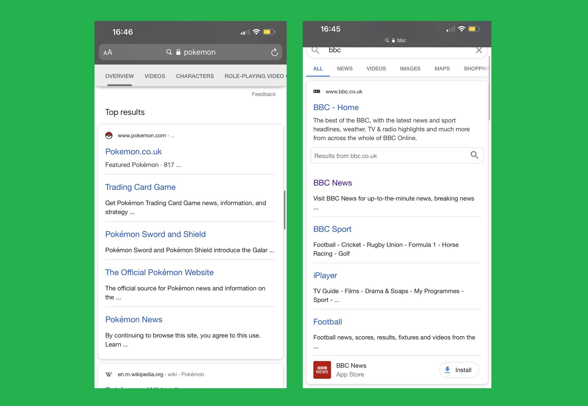 Google Is Testing New Layout And Design For Their Sitelinks On Smartphones Digital Information World