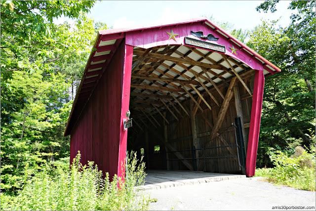 Puentes Cubiertos de Massachusetts: Tannery Bridge, Sandisfield