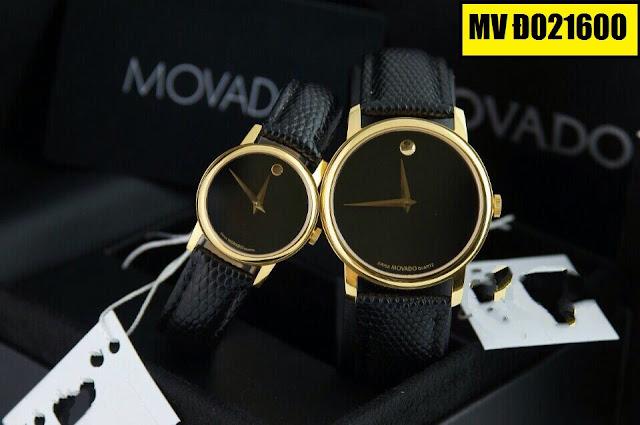 Đồng hồ dây da Movado D021600