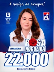 Vereadora Rosa Nogueira coloca mais uma vez o nome para representar Dom Pedro na Câmara Municipal