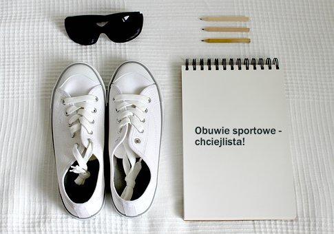 Sportowe buty na wiosnę - chciejlista