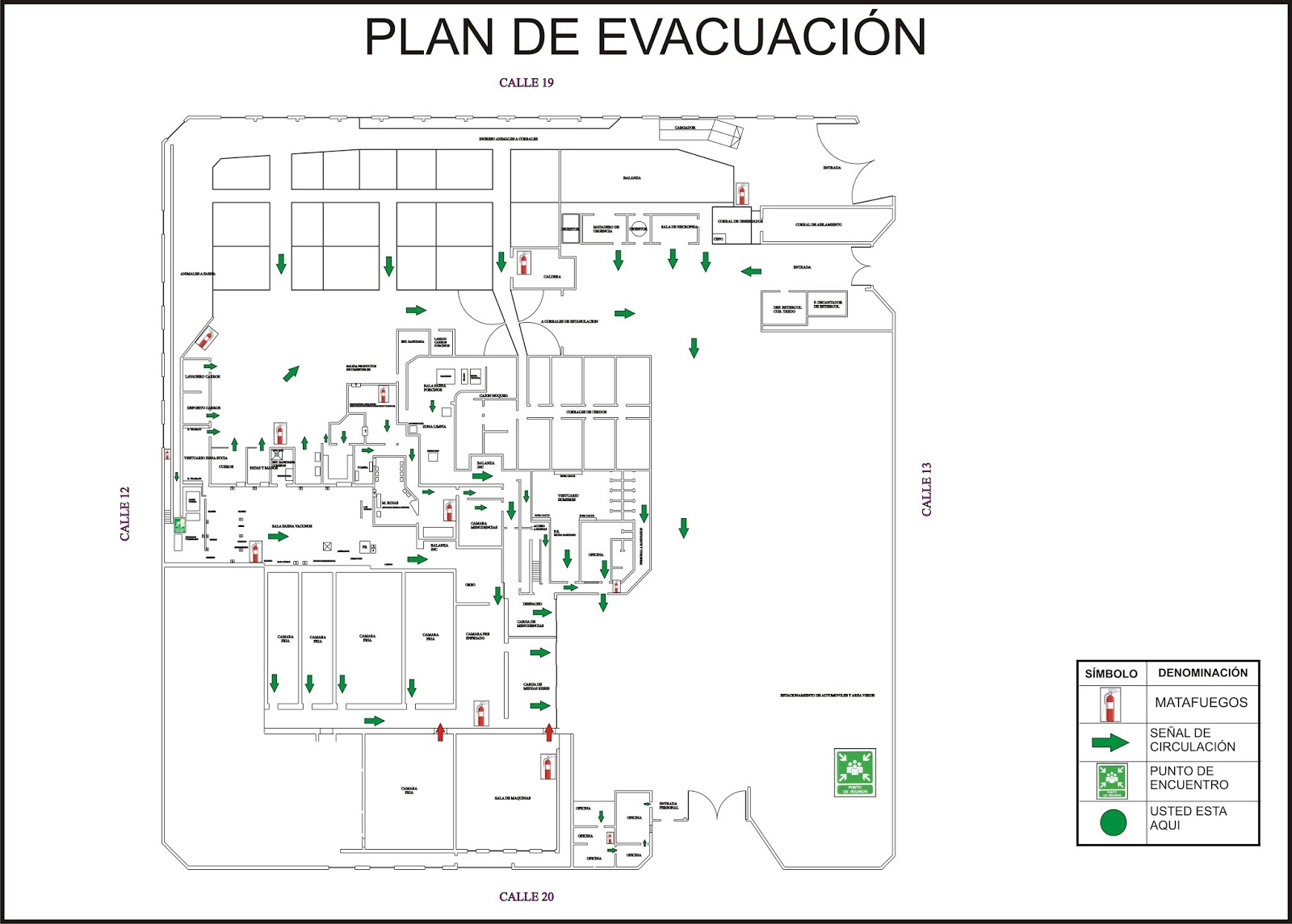 Mapa Plano Con Pin Icono De Puntero De La: Plano De Evacuacion. Fabulous Pin It Plano De Evacuacin Y