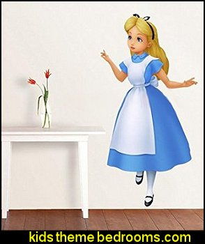 ALICE IN WONDERLAND Disney Decal WALL STICKER Home Decor Art Kids