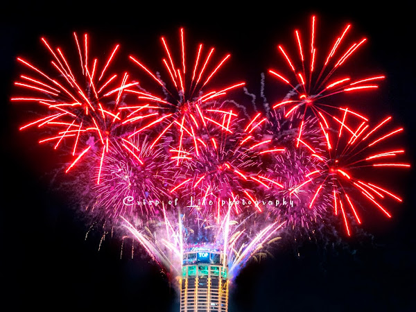 Grand Fireworks Display at The TOP Penang during Chinese New Year 2019 Countdown Party