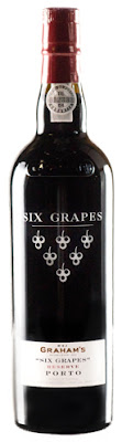 Graham's Six Grapes Reserve Porto, a bargain buy special drink for New Year's Eve!