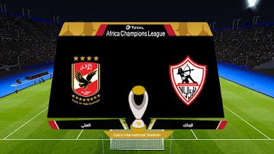 PES 2020 Scoreboard Africa Champions League by Ahmedromyo