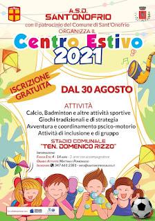 Centro Estivo 2021: Come iscriversi