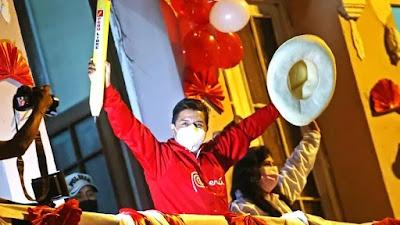 Pedro Castillo ganó las elecciones con 50.12%, según la ONPE al 100% de actas contabilizadas