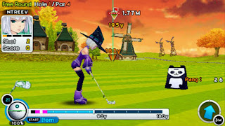 Game Pangya: Fantasy Golf ISO PPSSPP