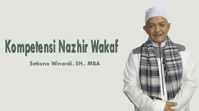 Kompetensi Nazhir Wakaf