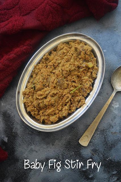 Baby Fig Stir Fry | Athikai Poriyal | Anjeer Stir Fry