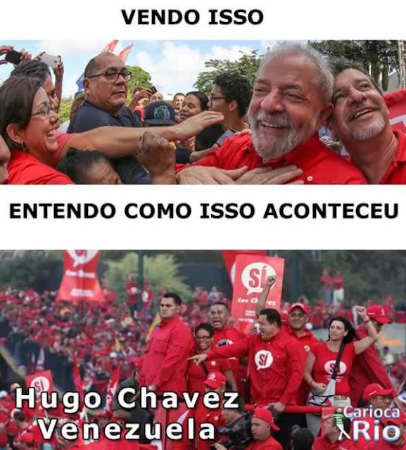 lula Hugo Chávez