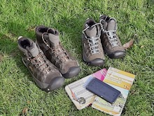 Walking boots by Hertfordshire Walker