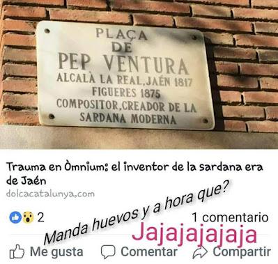 José Ventura, Pep, jienense, Jaén, sardana