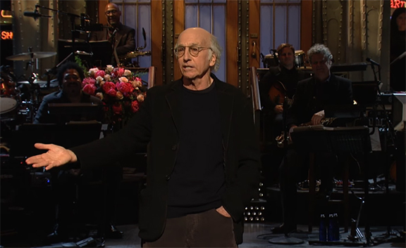 "Larry David on SNL: ""I consistently strive to be a good Jewish representative."""