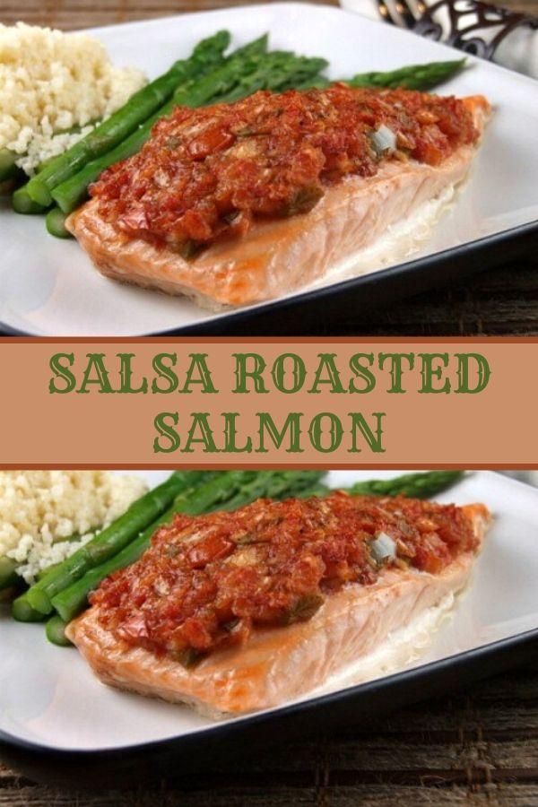 SALSA ROASTED SALMON