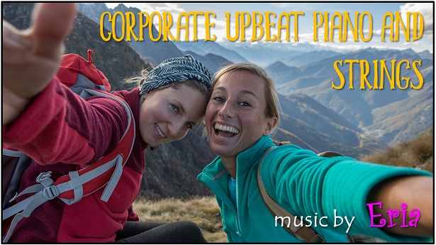Corporate Upbeat Piano and Strings