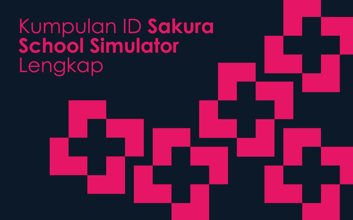 kumpulan id rumah bangunan sakura school simulator