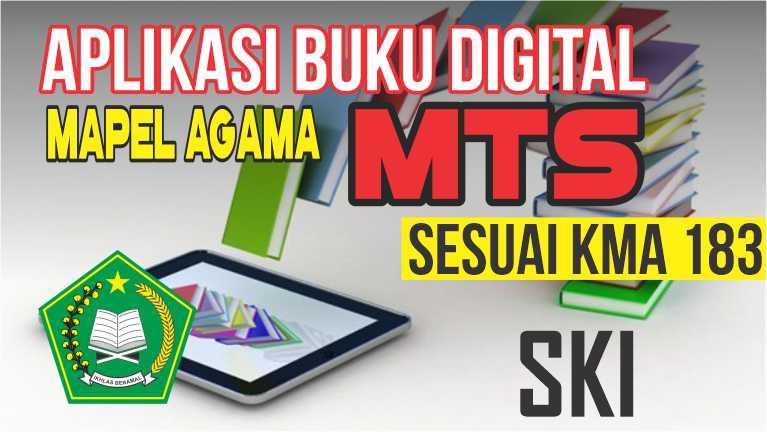 APLIKASI BUKU DIGITAL MTs MAPEL SKI SESUAI KMA 183