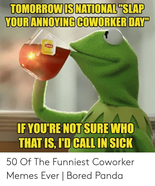 Slap Your Annoying Coworker Day Wishes For Facebook