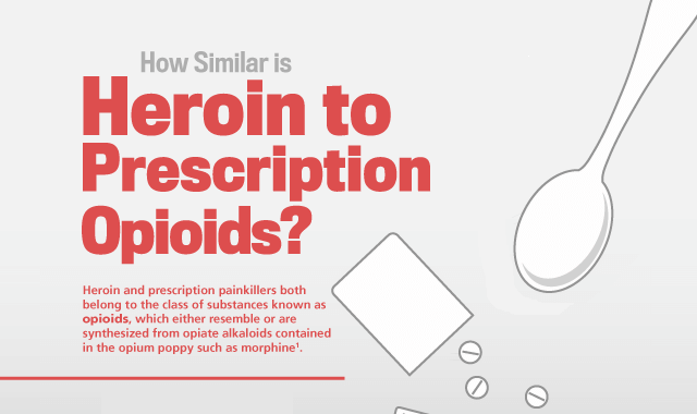 How Similar is Heroin to Prescription Opioids?